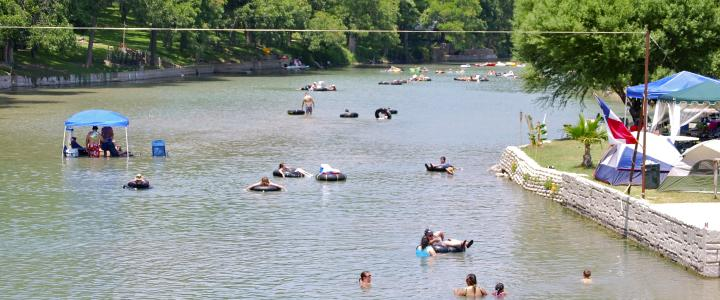 Guadalupe River New Braunfels, TX