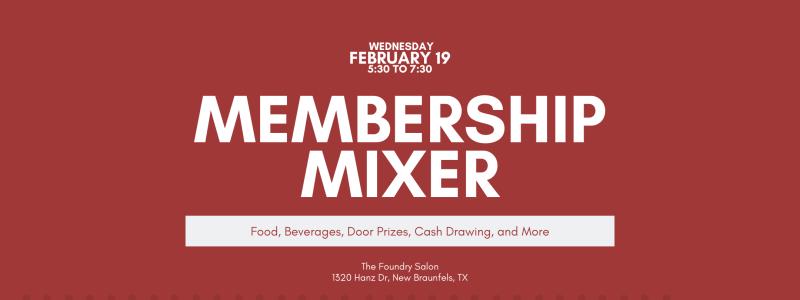 Feb Membership Mixer