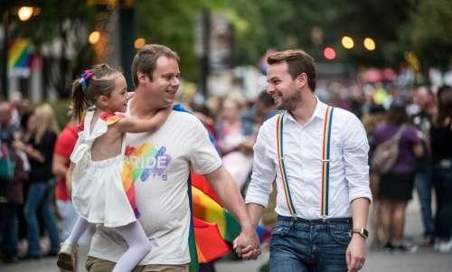 Family at SC Pride