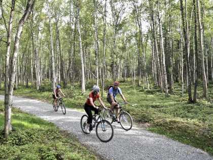 Anchorage biking trails
