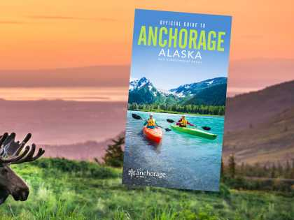 Order the 2021 Official Guide to Anchorage, Alaska to learn how you can view moose and other wildlife.