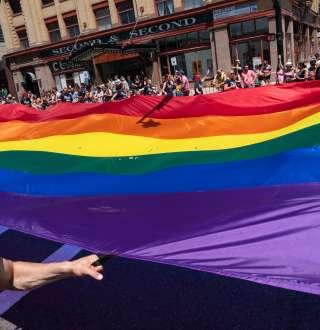 Utah Pride Festival Flag