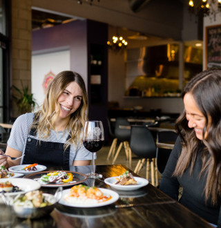 Meditrina is one of our favorite spots to wine and dine