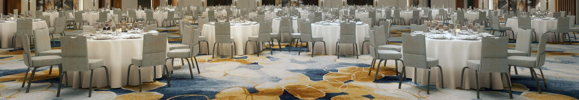 A rendering of the ballroom planned at Wind Creek® Bethlehem