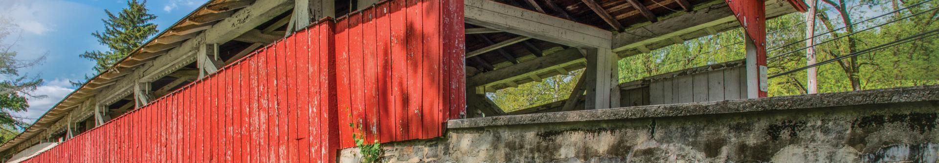 Bogert's Covered Bridge, Lehigh Valley, PA
