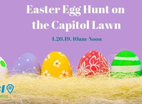 Easter Egg Hunt on Capitol Lawn