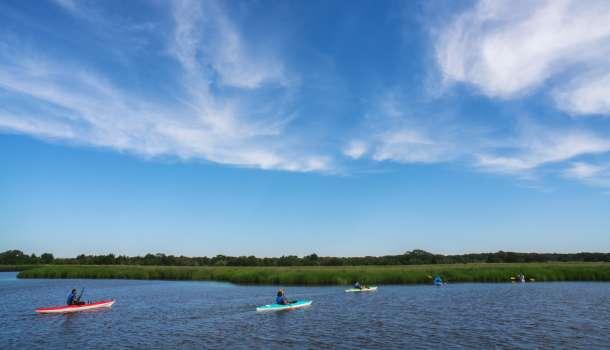 Zeke's Island Kayak Tour