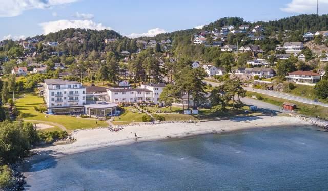 Strand Hotel Fevik i Grimstad - Classic Norway