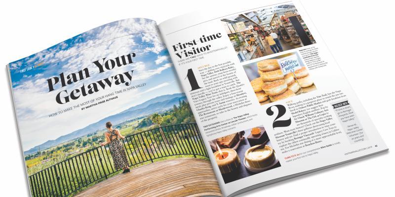 The Napa Valley Visitor Magazine | Visit Napa Valley