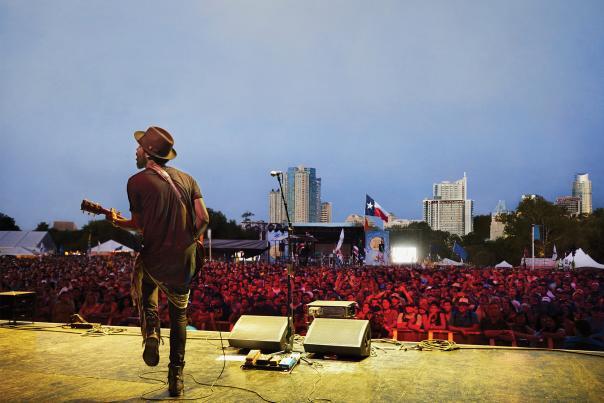 Austin City Limits-Music Festival-Gary Clark-H