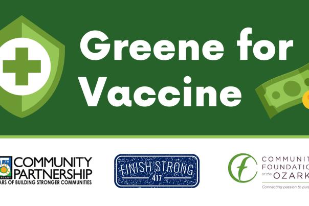 Greene For Vaccine Logo