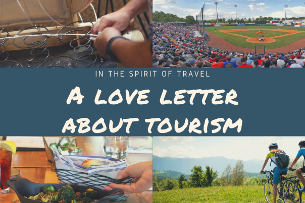 Tourism Love Letter collage