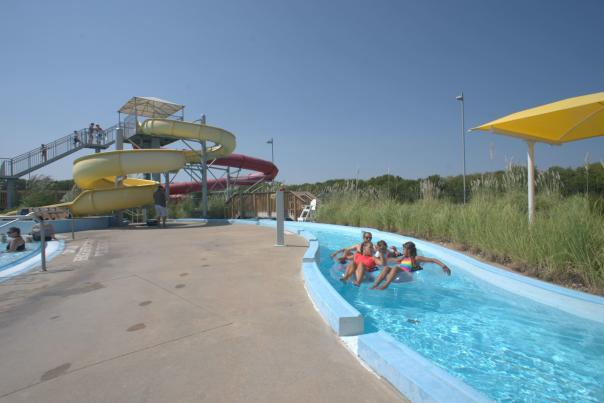 Lazy River at the Northwest YMCA Water Park