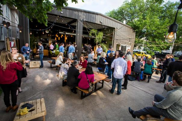 YP Mingle at Central Standard Brewing's Patio