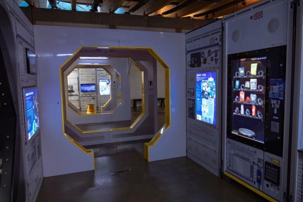 Astronaut Exhibit at Exploration Place