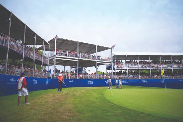17th Hole at the Wichita Open