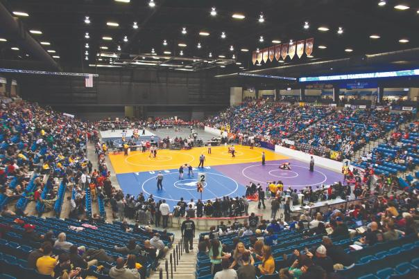 Wrestling Tournament at Hartman Arena