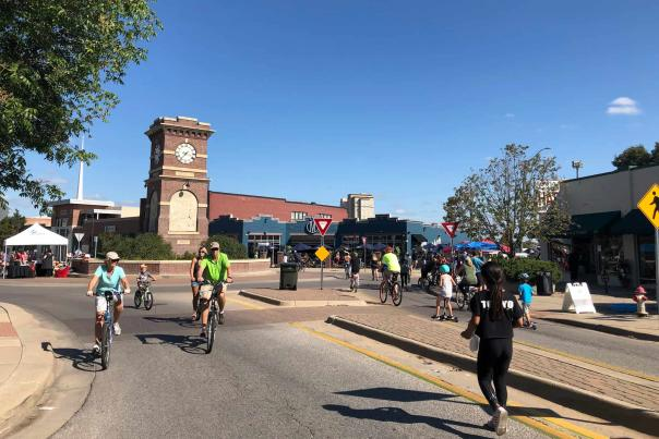 Open Streets ICT 2019 Near the Delano Roundabout