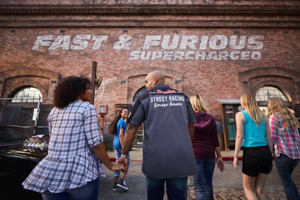 Fast and Furious Supercharged at Universal Studios Florida