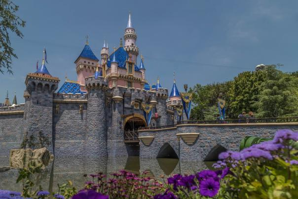 Sleeping Beauty's Castle at Disneyland Park
