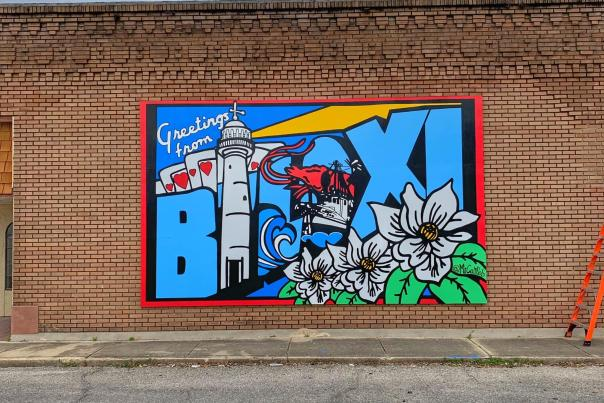 Welcome to Biloxi Mural