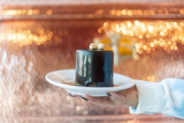 The Sicilian Baker - Chocolate Hazelnut Mousse Cake