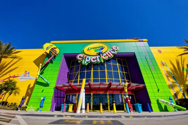 entrance to Crayola Experience