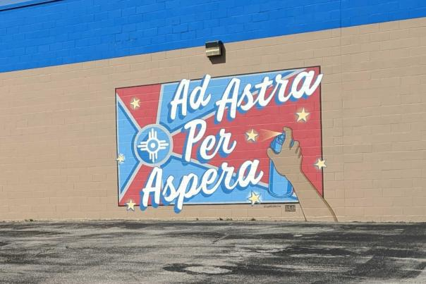 Ad Astra Mural