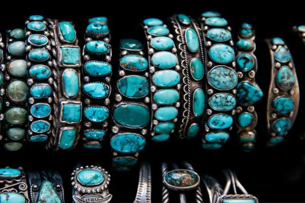 Turquoise Bracelets, New Mexico Magazine