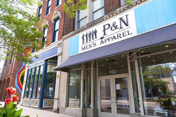 P and N Mens Apparel Exterior