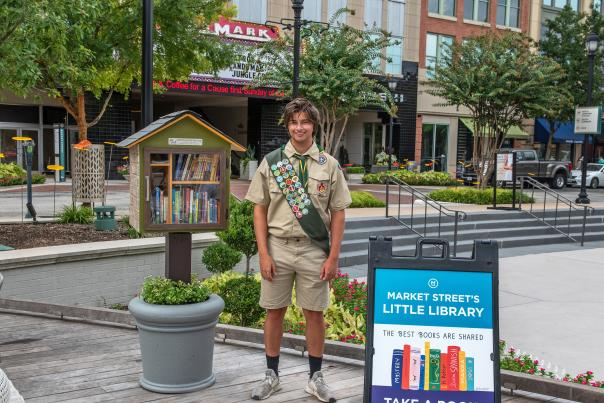 Little Free Library at Market Street