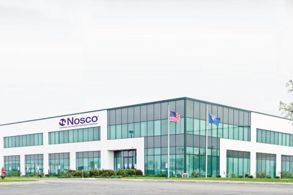 2020 Nosco HQ And Production Building Rendering
