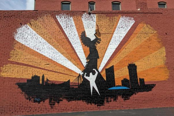 Strength Through the Spirit of Growth Mural