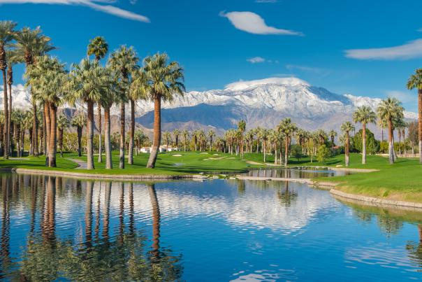 Mountain landscape in Greater Palm Springs