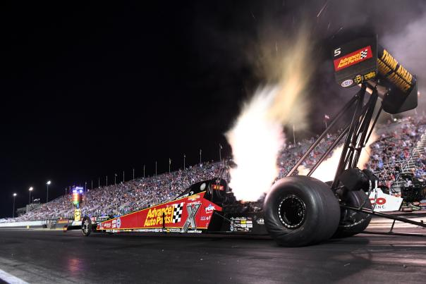 Brittany Force at U.S. Nationals at Lucas Oil Raceway