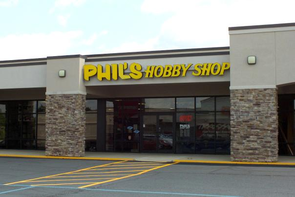 Phil's Hobby Shop in the Parkwest Shopping Center