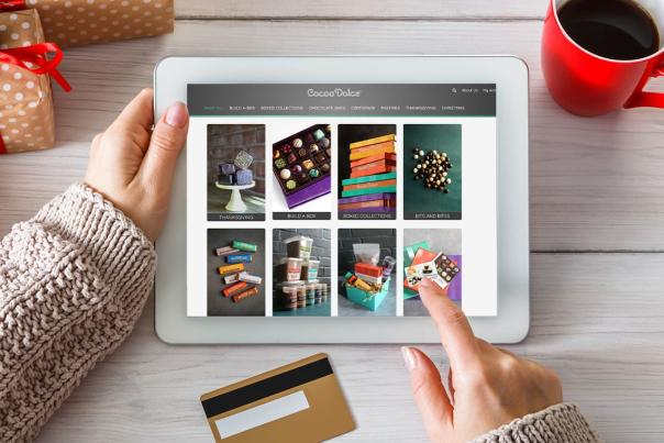 Online Shopping with Cocoa Dolce