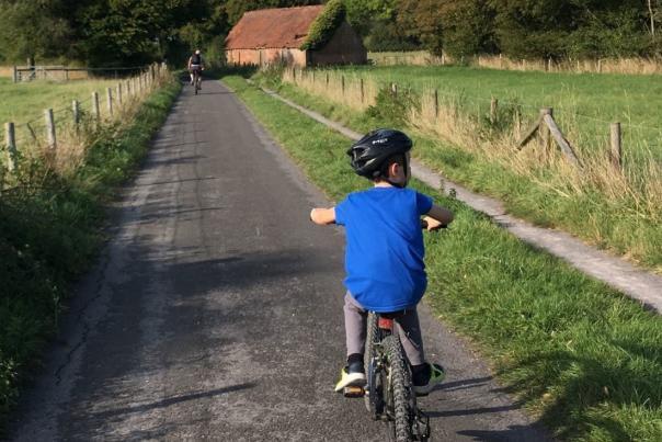 Cycling Bere Marsh Farm