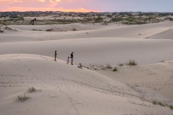 Sand Dunes-Monahans Sandhills State Park-Family-H