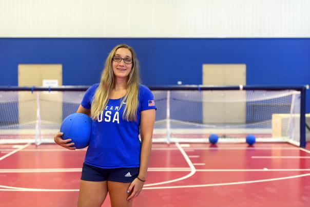 Eliana Mason, Goalball Paralympic Athlete