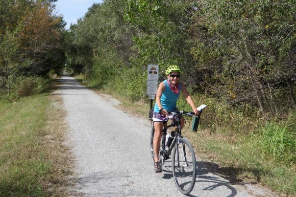 Prairie Sunset Trail Bike Path