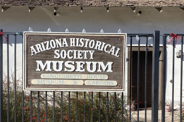 Sanguinetti House Museum's Historic Yuma Walking Tours