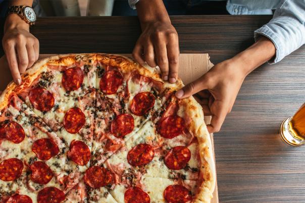 Pizza Header