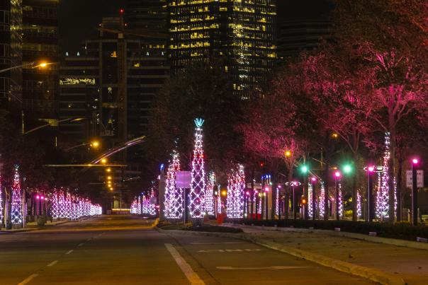 Uptown Holiday Lights