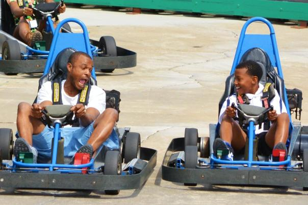 Fun Spot Orlando Commander Track go kart ride