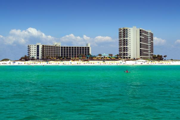 Hilton Sandestin - A view from the water