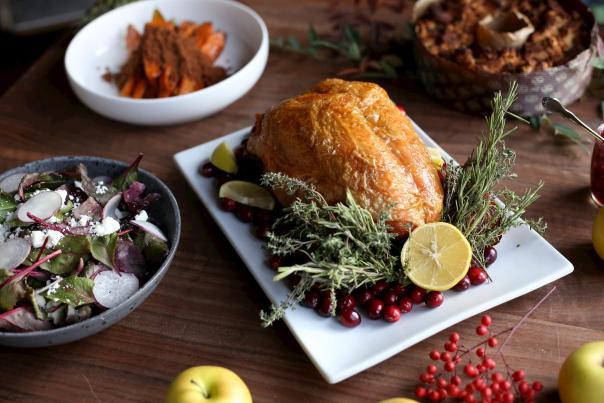 Turkey Dinner from Elderslie Farm