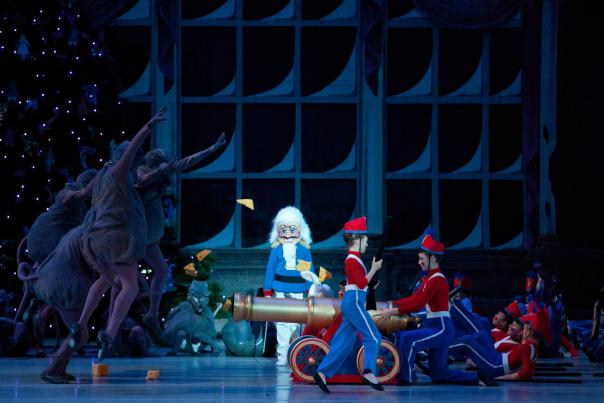 Dancers performing The Nutcracker at the Central PA Youth Ballet