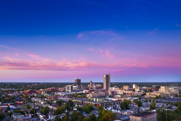 2020 Purple skyline photo by mollie shutt