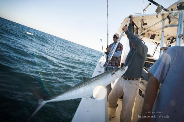 Deep Sea Fishing for King Mackerel